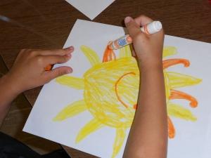 preschool sun picture