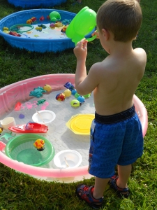 preschool water day