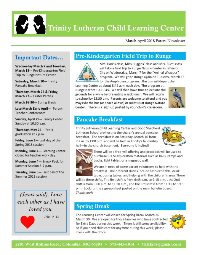 MarchApril 2018 Newsletter pg1